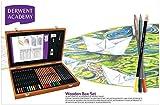 Derwent Academy Wooden Box Art Kit