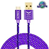 ULTRICS Câble Micro USB 3M, Nylon Tressé Cable Charge Sync Chargeur USB Android...