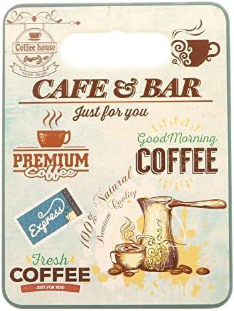 Pubviolancio srl 4 Pezzi Espresso Tagliere Porcellana cm e Sughero 18 x 24 cm Porcellana BOMBONIERA 15f0c5