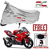 #6: Riderscart Bike Cover for tvs Apache RR-310Polyester 190T Resistant UV Protection Cover and Anti Pollution PM 2.5 Face Mask Cotton Fabric