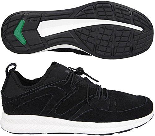 PUMA Ignite Blaze Suede Schuh Sneaker UK 8 1/2 - EUR 42 1/2 black-white