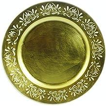 Galileo Casa antiguo Bajoplato, melamina, dorado, 33x 33x 2cm