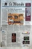 Telecharger Livres MONDE LE No 19603 du 01 02 2008 LA CHUTE DE POPULARITE DU CHEF DE L ETAT S ACCENTUE SAKOZY ENCORE UNE BAISSE DES TAUX AUX ETATS UNIS POUR EVITER LA RECESSION BNP PARIBAS ETUDIE UN RACHAT DE LA SOCIETE GENERALE LE PATRIMOINE DES CHEFS D ETAT AFRICAINS EN FRANCE J O LA FLAMME AU SOMMET ELECTION AMERICAINE RUDOLPH GIULIANI JOHN EDWARDS ENVIRONNEMENT POLLUTION A LA MAISON M CH BLANDIN VENISE REHABILITE LES BARBARES CREATEURS D UN NOUVEAU MON (PDF,EPUB,MOBI) gratuits en Francaise