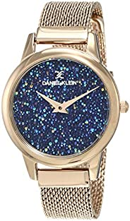 Daniel Klein Analog Blue Dial Women's Watch-DK120