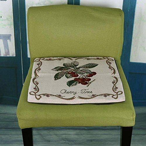 Cherry Küche Stuhl (demiawaking Stuhl Seat Pads Kissen Cherry Blume weich Schwamm Küche Esszimmer Ourdoor Garten Bürostuhl Kissen Pads)