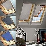 60 * 115cm Beige Dachfenster Rollo Verdunkelung Thermorollo Sonnen & Sichtschutz