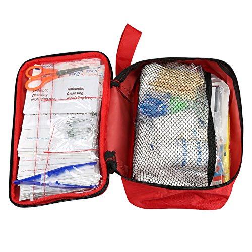LEADSTAR-Kit-di-Primo-Soccorso-Kit-di-Pronto-Soccorso-da-180-Pezzi-Mini-per-Emergenza-a-Casa-Auto-Allaperto-Campeggio-Escursionismo-e-Viaggi-180-Pezzi