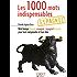 Petit livre de - 1000 mots indispensables en espagnol