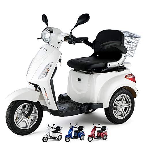 VELECO Tricycle électrique Mobilité/Loisirs Scooter Senior...