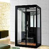 Home Deluxe Black Luxory XL Duschtempel
