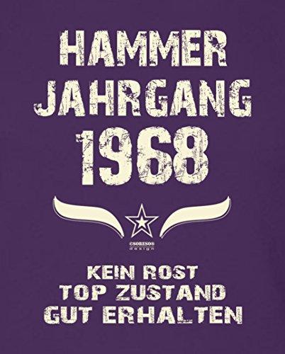 Geburtstagsgeschenk T-Shirt Männer Geschenk zum 49. Geburtstag Hammer  Jahrgang 1968 - Herrenshirt - Geburtstagsgeschenk ...