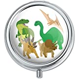 Dinosaurs Pill Case Trinket Gift Box