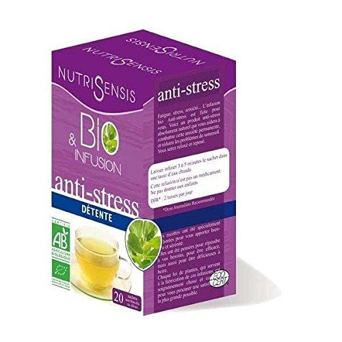 Nutrisensis - Infusion Anti Stress Bio Détente 20 Sachets