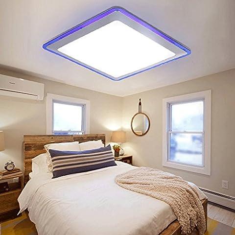 Lightinthebox LED moderne / contemporain Flush Ceiling Mount Acrylique Bleu
