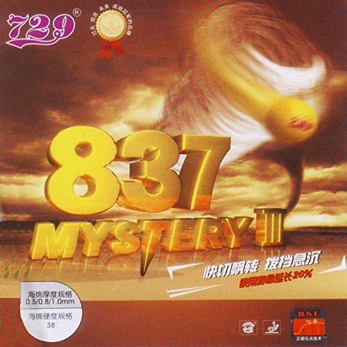 Friendship 837-Mystery III - Schütt Tischtennis, schwarz, 0.8