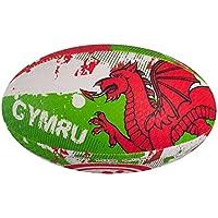 OPTIMUM Nations Mini - Pelota de Rugby, Color (Wales), Talla n/a