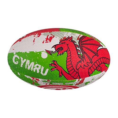 OPTIMUM Balón de Rugby de Las Naciones-Gales