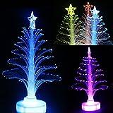 Alokie LED Baum Nachtlicht Bunte Weihnachten Baum Farbe ändern Licht Lampe Dekoration Weihnachtsbaum