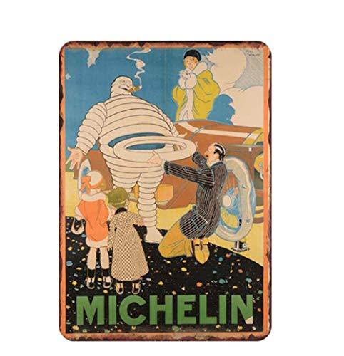 HMMY Nostalgic Metall Eisenmalerei30X20 cm Vintage Metall Malerei Shabby Chic Weißblech Metall Wandkunst Blechschilder Plaques Wohnkultur Großhandel Anpassen