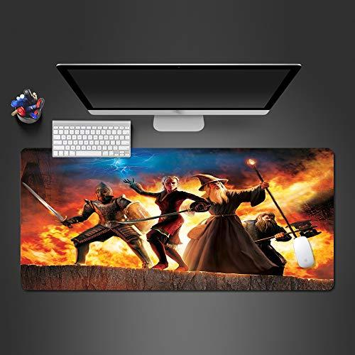 Art und Weisemausunterlagequalitätsgummimausunterlagecomputerspielerauflagehauptcomputertastaturauflage 900x400x2 Nippon Art
