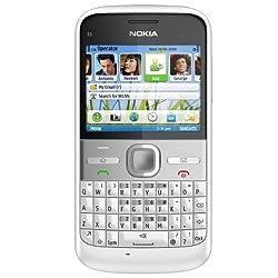 Nokia E5-00 (Chrome White)