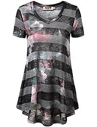 DJT-Camiseta Tunica para Mujer Corte Holgado