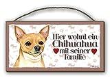 Chihuahua Schnick Schnack - HOLZSCHILD