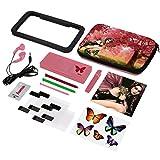 Hama 15in1-Zubehör-Set Sweet Fairy für Nintendo New 3DS/New 3DS XL (inkl. Tasche, Schutzfolien, Kopfhörer, Stifte)
