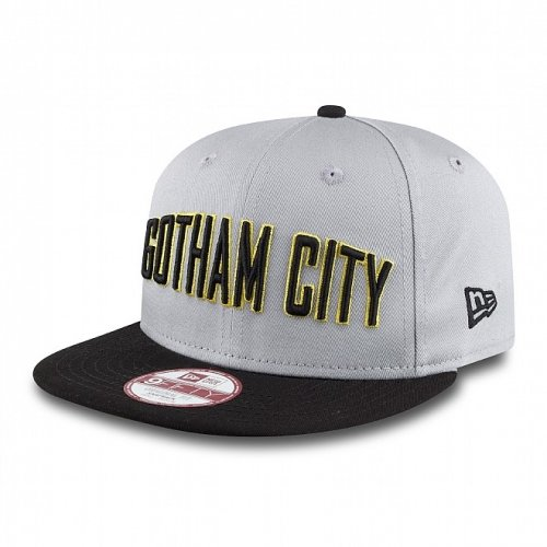 New Era Gotham City Hero Casquette Snapback (Gris) - Small / Medium