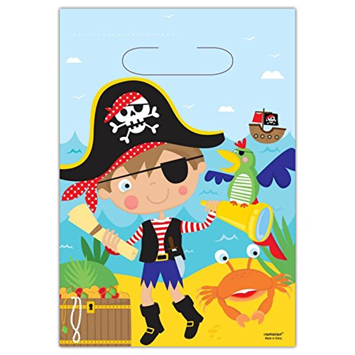 amscan 371622Geschenktüten Little Pirat