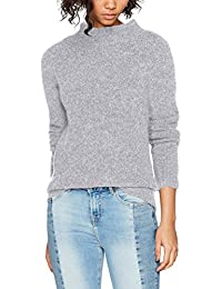 VILA CLOTHES Damen Pullover Viplace L/S Knit Turtleneck Top-Noos
