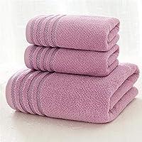 Baño Clásico Suministros Albornoz Toallas de baño engrosadas de algodón Juego de Toallas de baño de