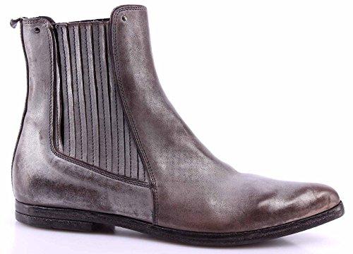16c39f40761394 MOMA Damen Schuhe Stiefeletten 94402-CG Cusna Argento Leder Silber Vintage  Neue