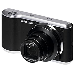 Samsung Galaxy Kamera 2 (16,3 Megapixel, 21-fach opt. Zoom, 12,2 cm (4,8 Zoll) Display, Full HD Video, Android 4.3) schwarz