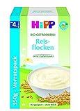 HiPP Schmelzende Reisflocken, glutenfrei, 4er Pack (4 x 350 g)