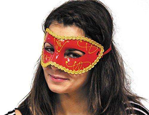 Party Pro 8557Venitien weiß lang Nase Venezianische Maske, ()