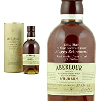 Personalised Aberlour A'bunadh 70cl from Aberlour
