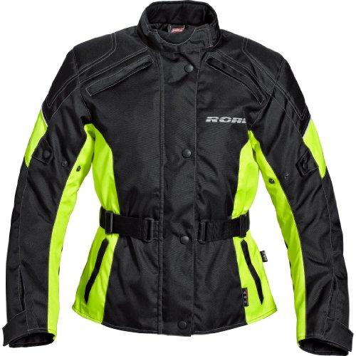 Motorradjacke Road Damen grau Protektorenjacke, Biker Jacke inklusive Protektoren