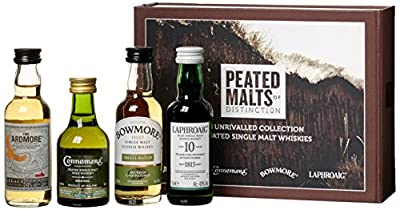 Peated Malts of Distinctions Mini-Pack Single Malt Whisky (4 x 0.05l)