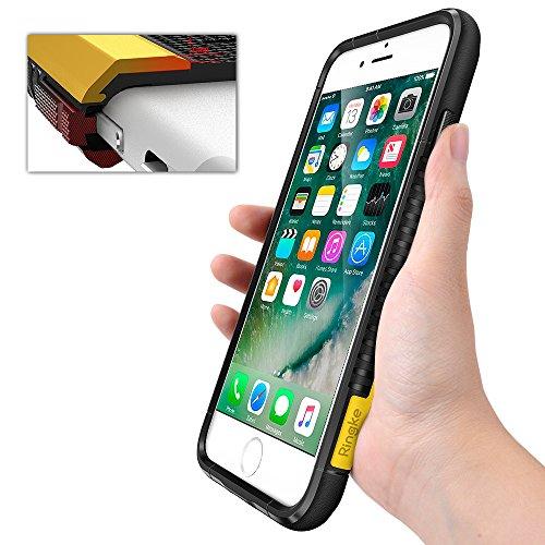 iPhone 7 / iPhone 8 Hülle, Ringke MAX (Starker Schutz und Tropfen sicher) doppelt Beschichtetes Kraft Resistentes dünnes Maximal schützendes Hartschalencover für das phone - Hummel schwarz