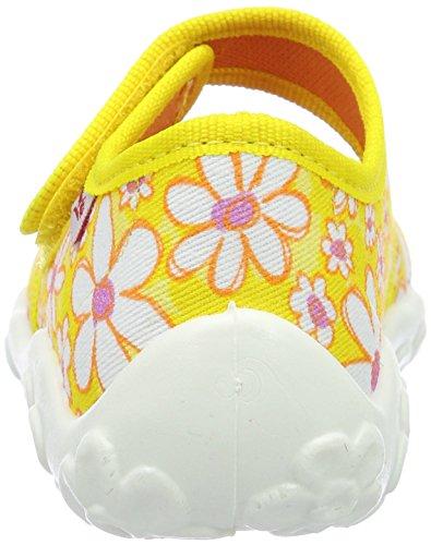 Superfit Mädchen Bonny Flache Hausschuhe Gelb (sun Kombi)
