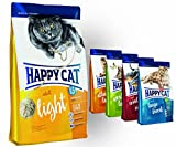 Happy Cat Adult Light 10 kg + 4x 300g