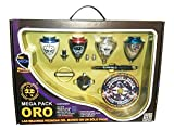 Xtreme Mega Pack Gold Neon - Briefcase peonzas, Colour Gold Neon (Space 008000041)