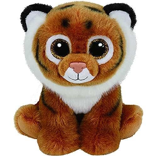 peluches TY - Classics Tiggs, tigre de peluche, 15 cm, color marrón (42105TY)
