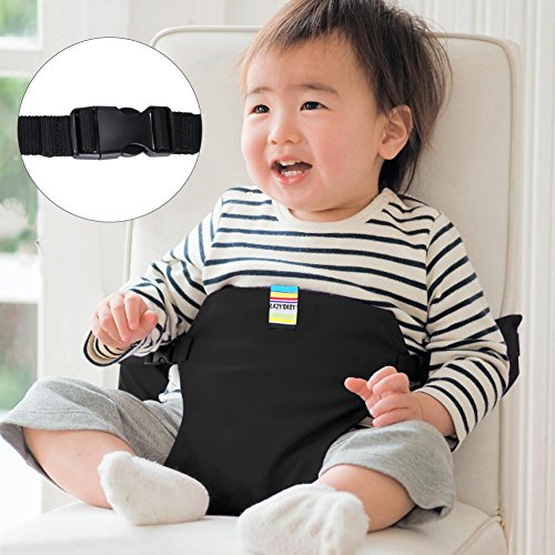 GHB tragbare Stuhl Babysitz Baby Esszimmerstuhl Sicherheitsgurt für Babys Kleinkind