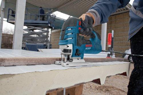 Bosch Professional GST 150 BCE Stichsäge, Schnitttiefen 150 mm Holz, 20 mm Alu, 10 mm Stahl, Handwerkerkoffer, 1 Stück, 0601513000 - 4