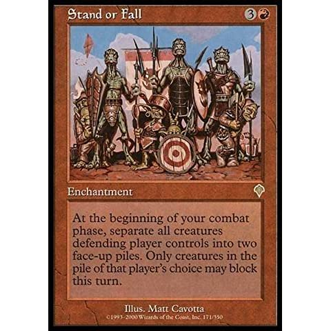 Magic: the Gathering - Stand or Fall - Invasion - Foil by Wizards of the Coast