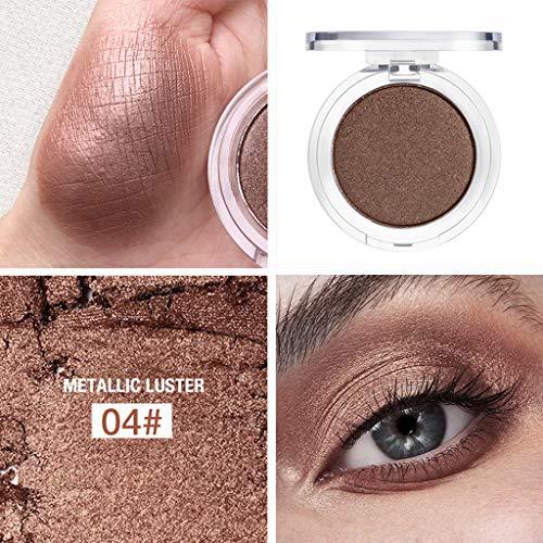 Moonuy Le fard à paupières,Ombre À Paupières Palette 14 Couleurs Fard À Paupières Poudre Maquillage Imperméable À L'eau Ombre Palette Cosmétiques