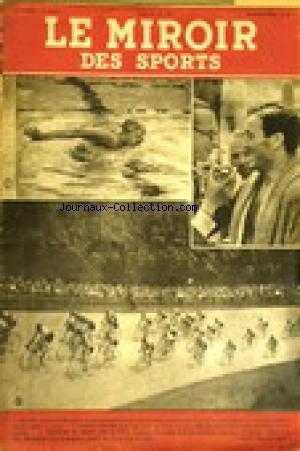 MIROIR DES SPORTS (LE) [No 64] du 29/06/1942 - BOXE - MARCEL CERDAN.