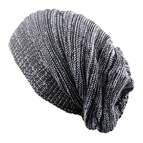 Preisvergleich Produktbild WEILIVE Wintermütze Warme Hecke Hecken Kappe Outdoor Hut (schwarz)